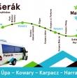 Przejazdy autobusowe Malá Úpa – Kowary – Karpacz - Harrachov
